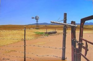 david-bucklow-landscape-fenced-windmill-303278